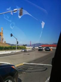 Towards the bridge!