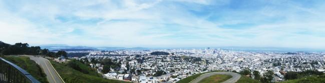 Twin Peaks view!